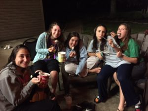 Madrichot at Shabbaton